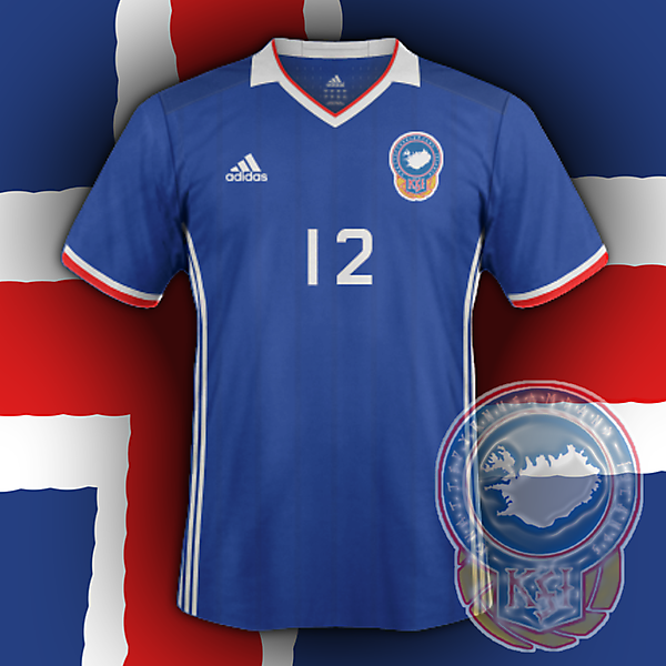 Iceland home (based on my crest redesign for CRCW)
