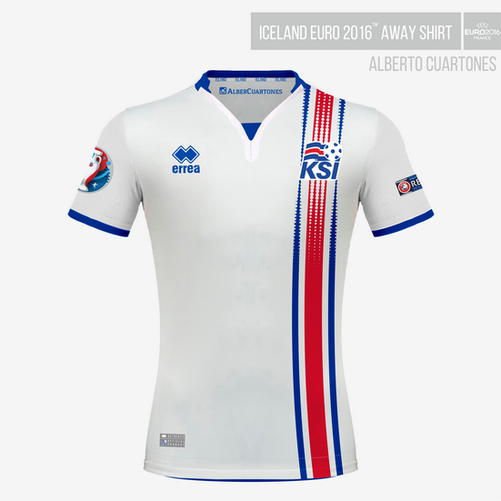 Iceland UEFA EURO 2016™ Away Shirt