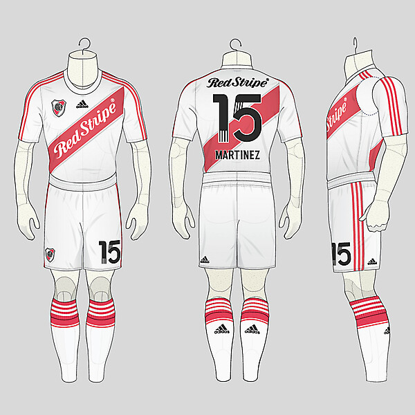 If Red Stripe sponsored River Plate