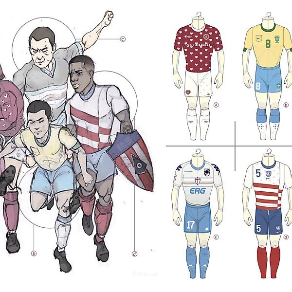 illustration of Kits