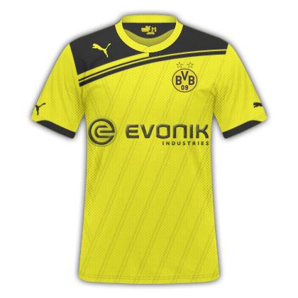 Imagine Borussia Dortmund Kit