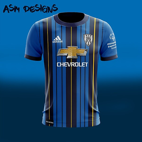 Independiente del Valle Adidas 2018 Home Kit