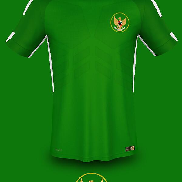 Indonesia Third Kits 2018 Fantasy