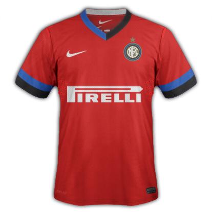Inter Milan Away Nike Shirt 12-13