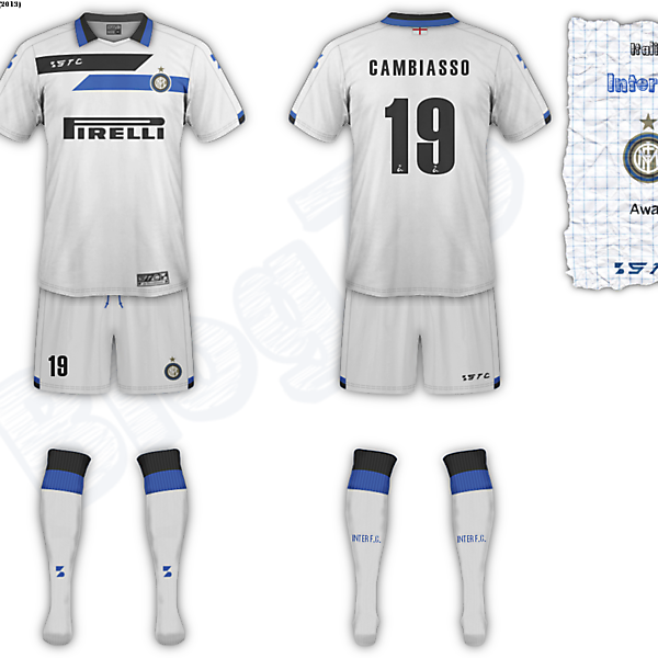 Inter F.C. fantasy away