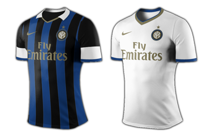 Inter Milan home & away
