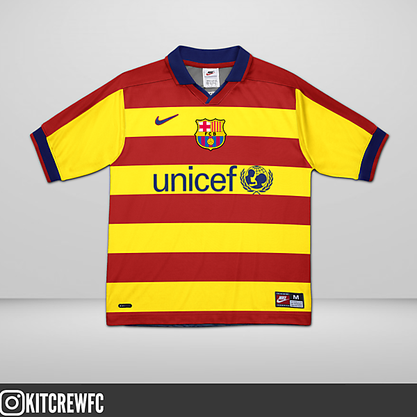 Inter Milan 3rd Kit redesign/ Barcelona (2/3)