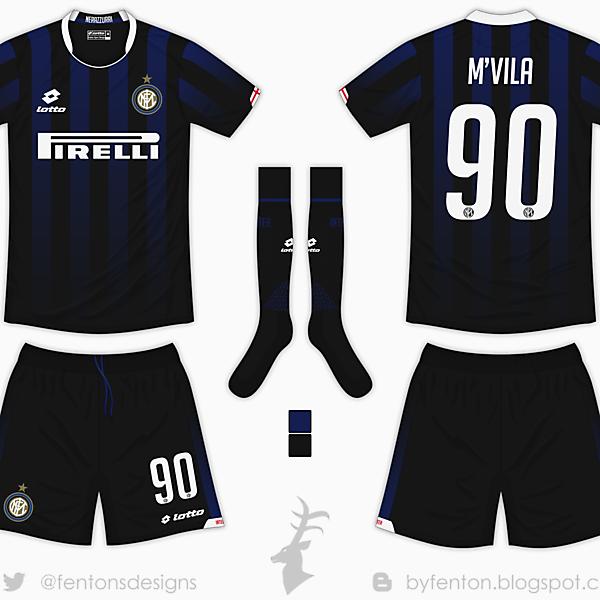 Inter Milan Home Kit - Lotto