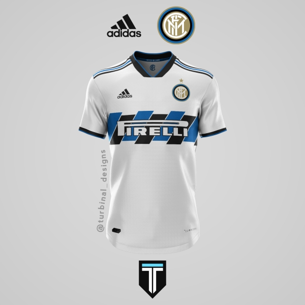 Inter Milan x Adidas - Away Kit Concept