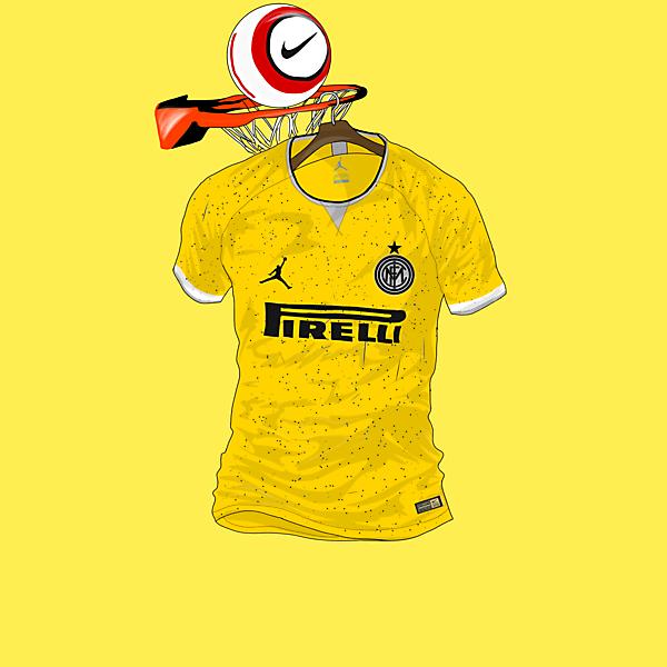 Inter Milan x @Jumpman23 - 3rd kit