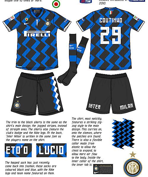 F.C Internazionale Home Kit Concept