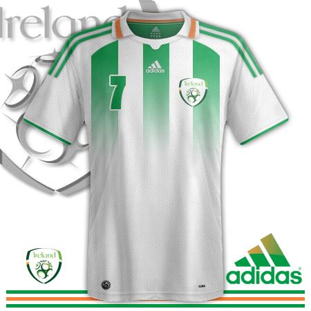 Ireland Away Kit
