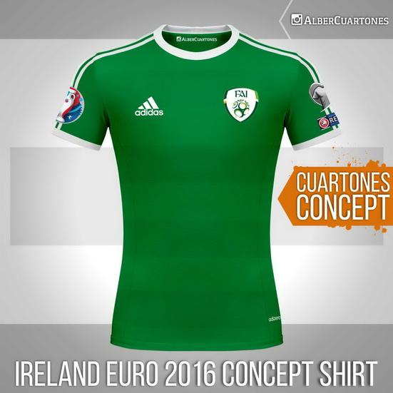 Ireland Euro 2016 Concept Shirt