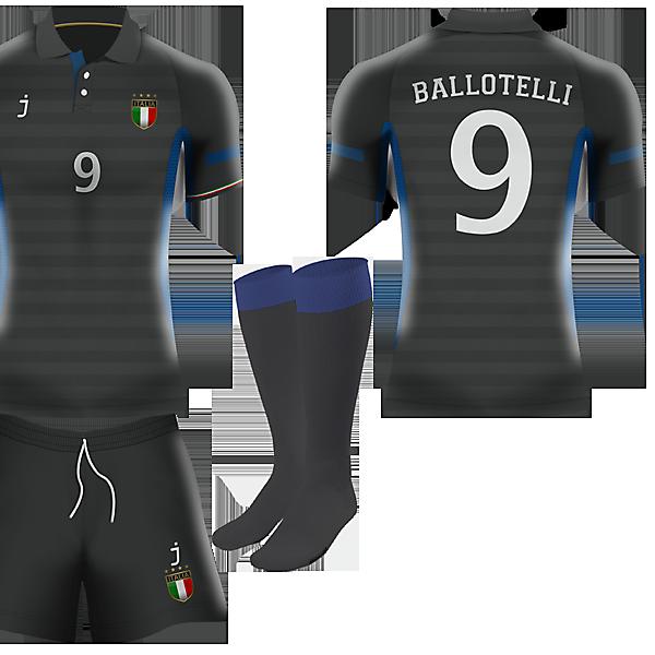 Italia 3rd kit by J-sports