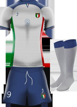 Italia away kit