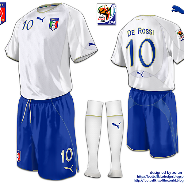Italy World Cup 2010 fantasy away