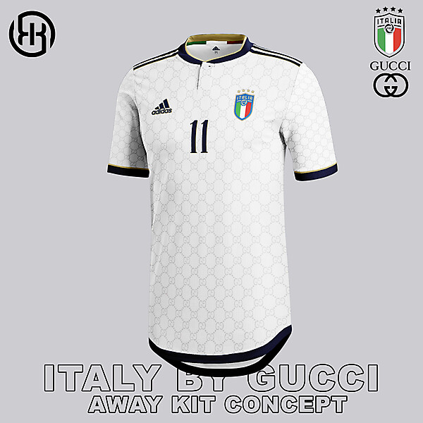 Italy by Gucci   Away kit concept