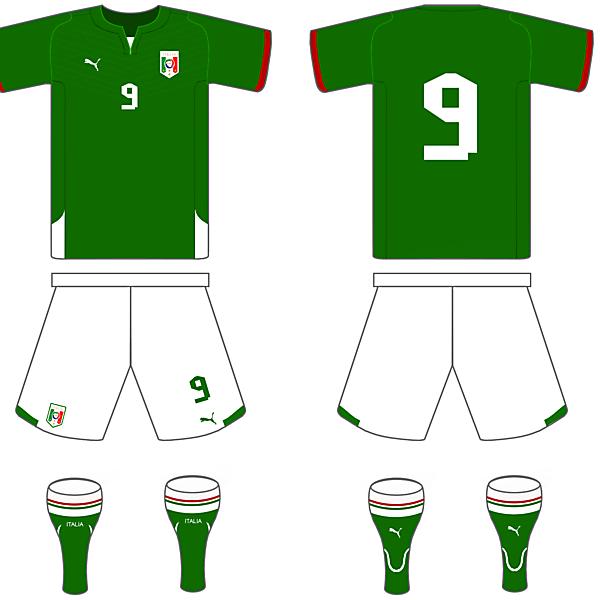 Italy Flag based kit
