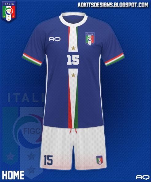 Italy Kit Design 2K17 (Home)