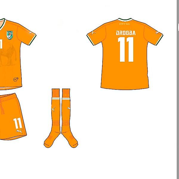 Ivory Coast Home Kit