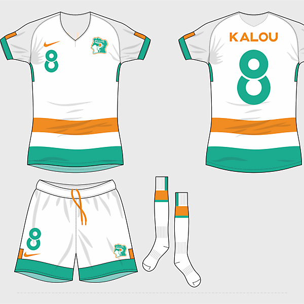 Ivory Coast NT away