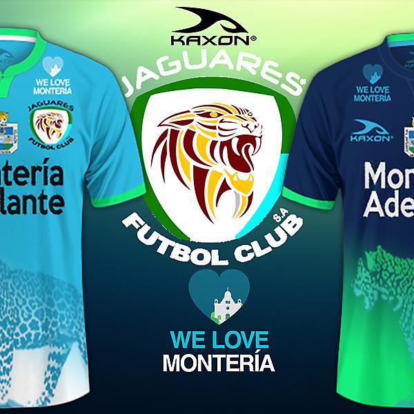Jaguares de Cordoba FC- Kaxon Kits