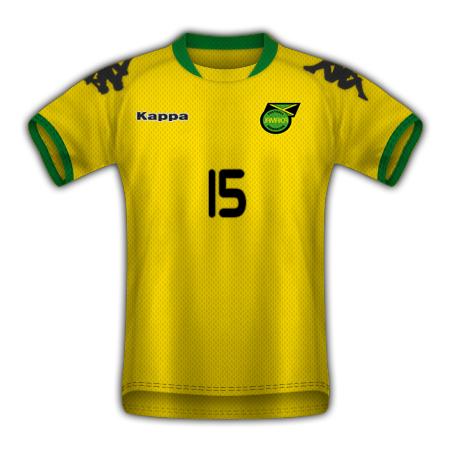 Jamaica Home Shirt
