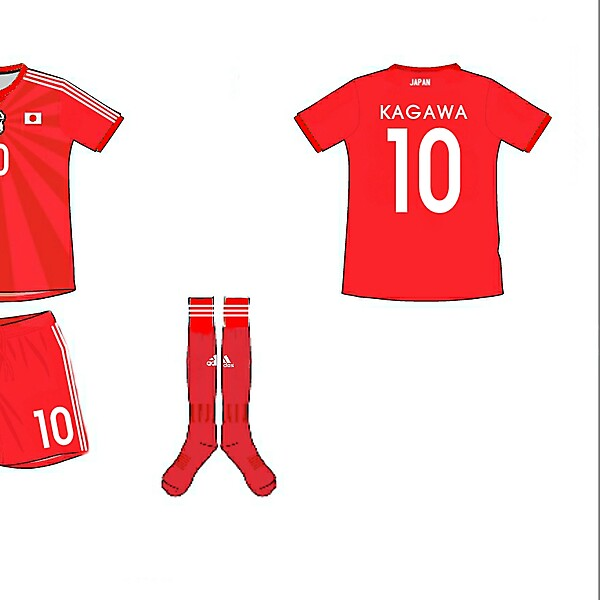 Japan Away Kit