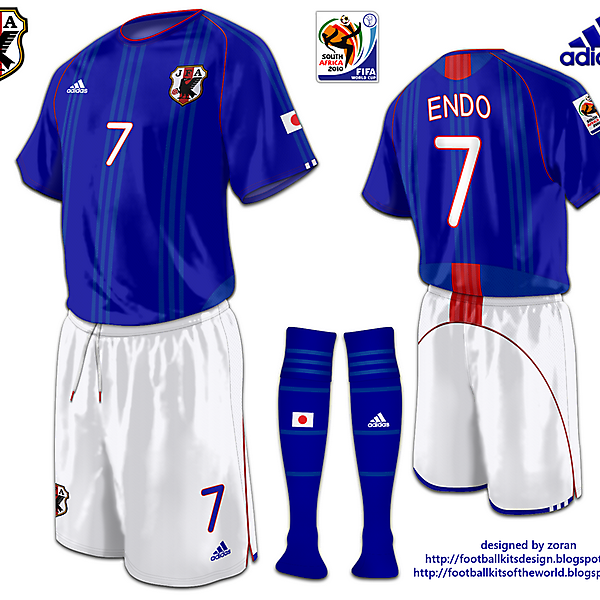 Japan World Cup 2010 fantasy home