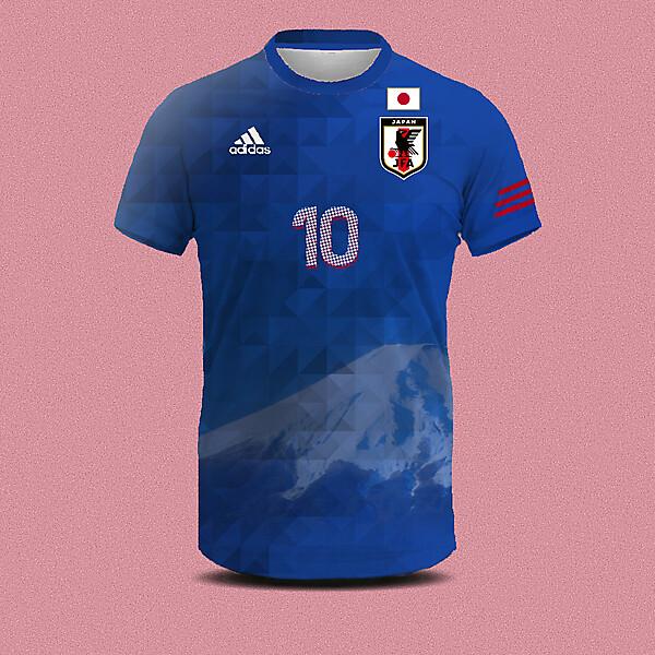 Japan home shirt concept