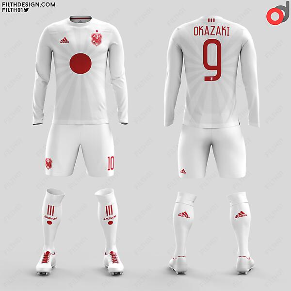 Japan x Adidas   Away Kit