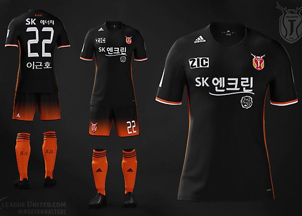 Jeju United Adidas Away Kit