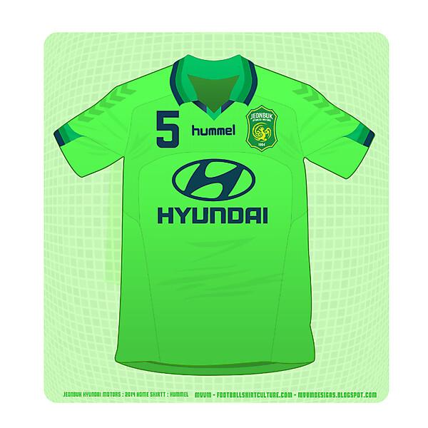 Jeonbuk Hyundai Motors : Hummel : Home Shirt