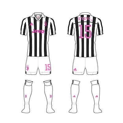 #Juve home kit - @steevo_15