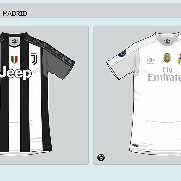 Juventus - Real Madrid x Umbro