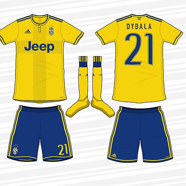 Juventus 2017/18 Away Kit