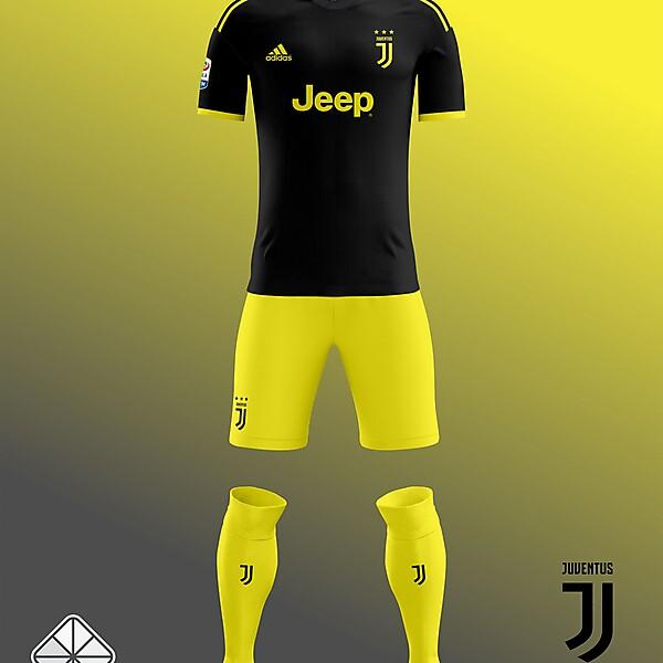 Juventus 2018-2019 Third Kit Leaked