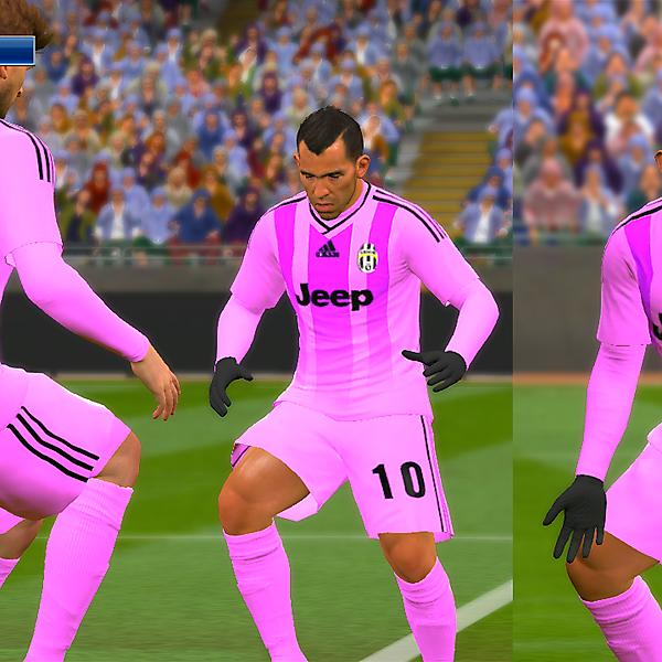 Juventus Adidas Away [Pink]
