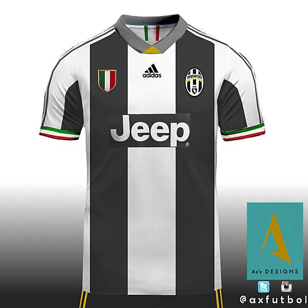 Juventus Adidas kit / AXFUTBOL