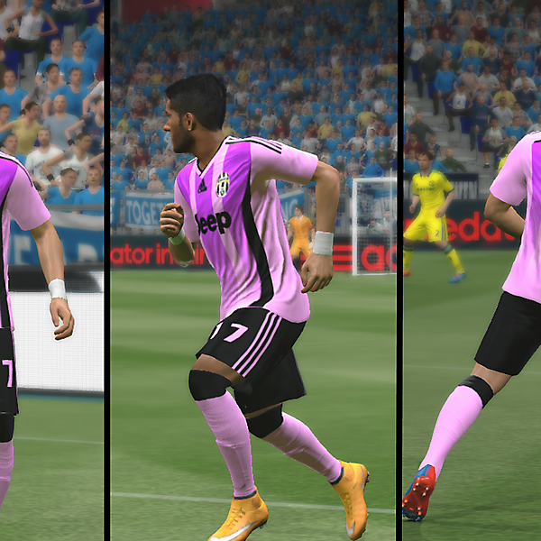 Juventus Adidas Pink/Black