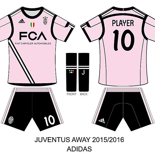 juventus away 2015
