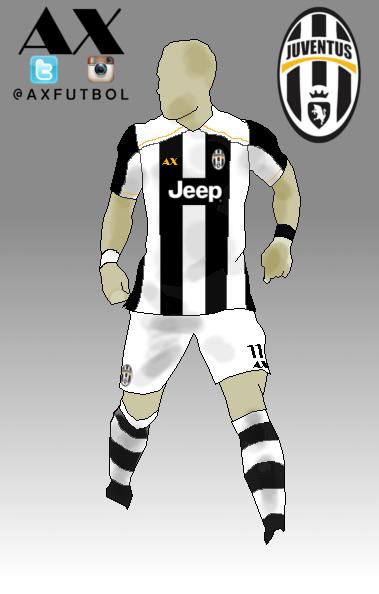 Juventus de Turin FC home kit