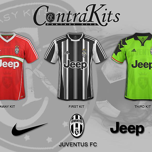 Juventus FC 1st kit 2017/2018