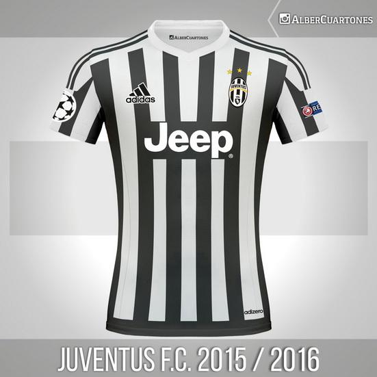 Juventus F.C. 2015 / 2016 Home (according to leaks)