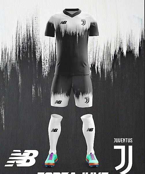 Juventus F.C. New Balance 2018 Home Kit