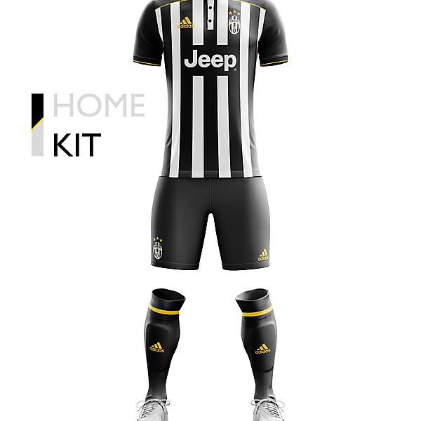Juventus Home Kit 17/18.