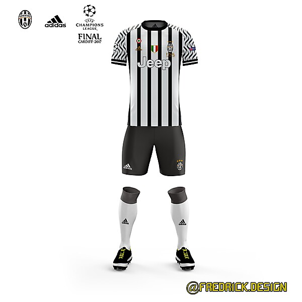 Juventus x Final Champions League 2017