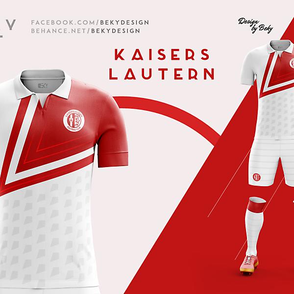 Kaiserslautern Away Kit Proposal