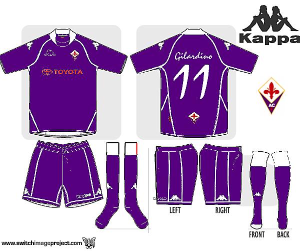 Fiorentina Home Kappa
