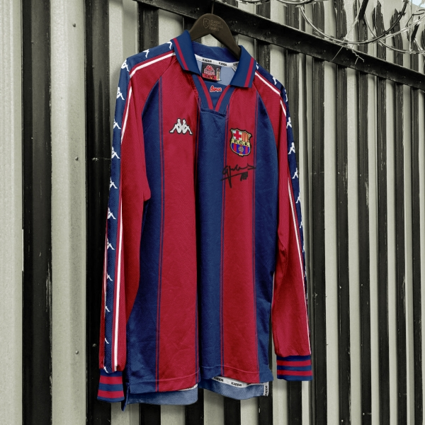 Kappa FC Barcelona 1997-99 Home jersey retroconcept